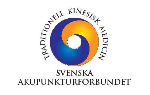 Bild på Svenska Akupunkturförbundets logga.